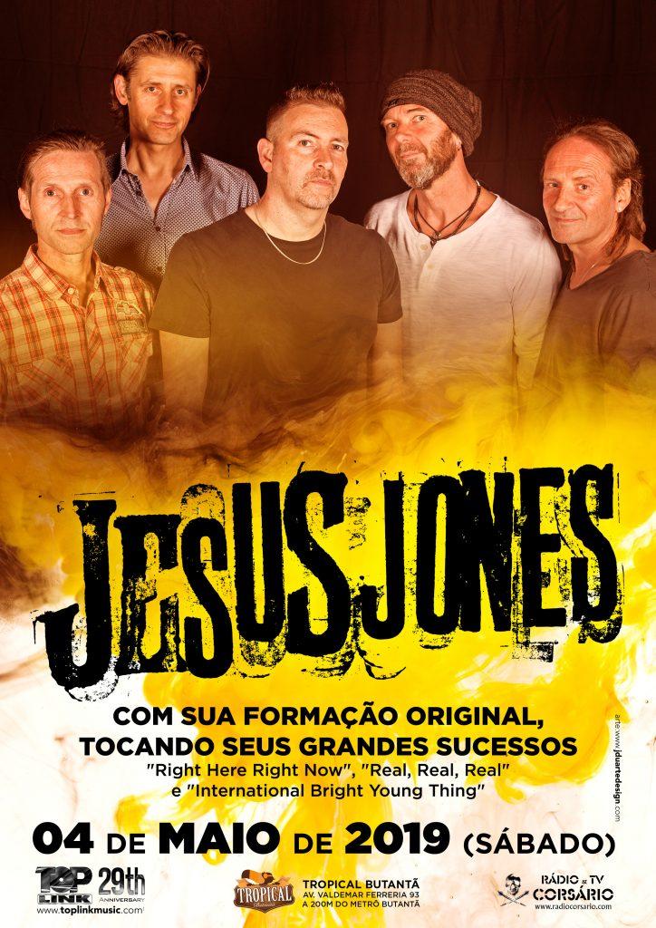 Jesus Jones play Brazil - May 2019 - Jesus Jones